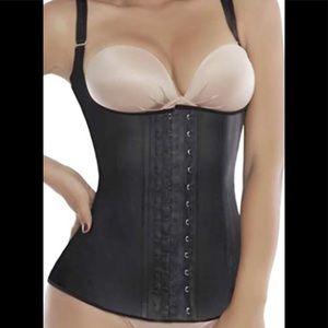 Ann Michell's Latex Vest Waist Trainer 4-XL 44